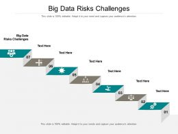 Big Data Risks Challenges Ppt Powerpoint Presentation Inspiration Cpb
