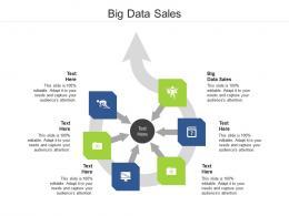 Big Data Sales Ppt Powerpoint Presentation Portfolio Ideas Cpb
