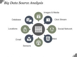 Big Data Source Analysis Powerpoint Graphics
