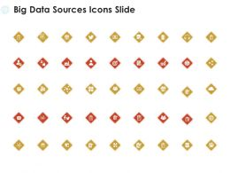 Big Data Sources Icons Slide Checklist C1059 Ppt Powerpoint Presentation Styles Slide