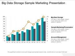 Big Data Storage Sample Marketing Presentation Account Management Cpb