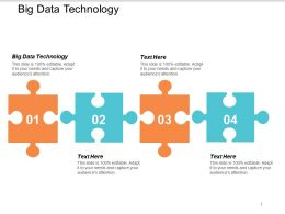 Big Data Technology Ppt Powerpoint Presentation Styles Portfolio Cpb