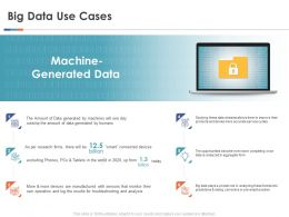 Big Data Use Cases Ppt Powerpoint Presentation Professional Slides