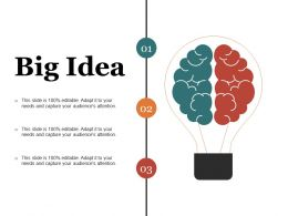 Big Idea Presentation Slides