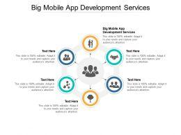 Big Mobile App Development Services Ppt Powerpoint Presentation Inspiration Cpb