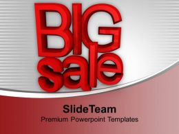 Big Sale Festive Season Heavy Discounts Powerpoint Templates Ppt Themes And Graphics 0113