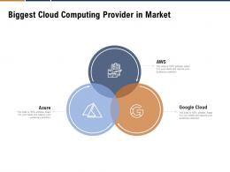 Biggest Cloud Computing Provider In Market Ppt Powerpoint Presentation Pictures Outline