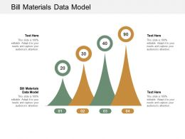 Bill Materials Data Model Ppt Powerpoint Presentation File Designs Cpb