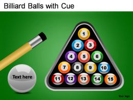 billiard_balls_with_cue_powerpoint_presentation_slides_Slide01
