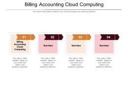 Billing Accounting Cloud Computing Ppt Powerpoint Presentation Model Inspiration Cpb