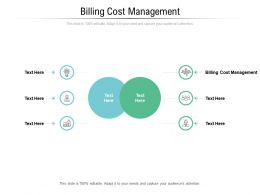 Billing Cost Management Ppt Powerpoint Presentation Professional Graphics Cpb