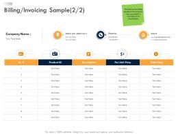 Billing Invoicing Sample Business Strategic Planning Ppt Graphics