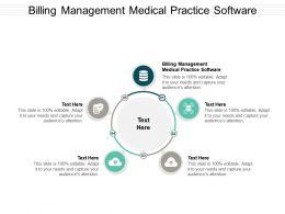 Billing Management Medical Practice Software Ppt Powerpoint Presentation Portfolio Elements Cpb