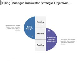 Billing Manager Rock Water Strategic Objectives Services Surpass Needs