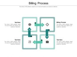 Billing Process Ppt Powerpoint Presentation File Sample Cpb