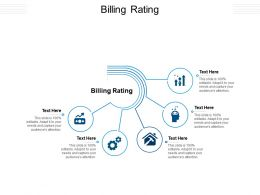 Billing Rating Ppt Powerpoint Presentation Gallery Images Cpb