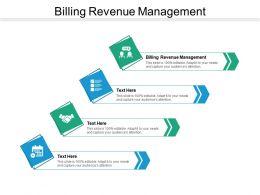 Billing Revenue Management Ppt Powerpoint Presentation Professional Portfolio Cpb