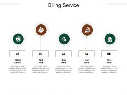 Billing Service Ppt Powerpoint Presentation Infographics Shapes Cpb