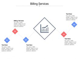 Billing Services Ppt Powerpoint Presentation Outline Layout Ideas
