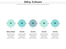 Billing Software Ppt Powerpoint Presentation Infographic Template Backgrounds Cpb