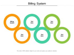 Billing System Ppt Powerpoint Presentation Show Display Cpb