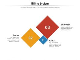 Billing System Ppt Powerpoint Presentation Styles Good Cpb