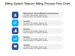 Billing System Telecom Billing Process Flow Chart Ppt Powerpoint Presentation Files Cpb