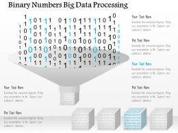 Binary Numbers Big Data Processing Ppt Slides