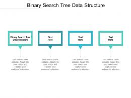 Binary Search Tree Data Structure Ppt Powerpoint Presentation Show Mockup Cpb