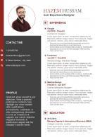 Bio Data Sample With Professional Skills And Key Qualities