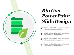 Bio Gas Powerpoint Slide Design