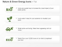 Bio Plant Car Eco Nature Safety Ppt Icons Graphics