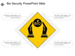 Bio Security Powerpoint Slide