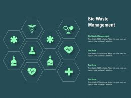 Bio Waste Management Ppt Powerpoint Presentation Summary Layout