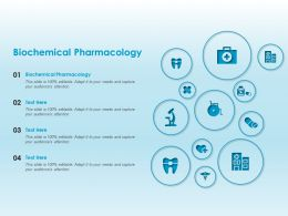 Biochemical Pharmacology Ppt Powerpoint Presentation Outline Slide Download