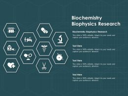 Biochemistry Biophysics Research Ppt Powerpoint Presentation Inspiration Graphic Images