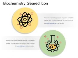 Biochemistry Geared Icon