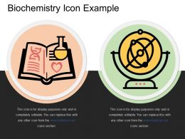 Biochemistry Icon Example