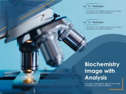 Biochemistry Image With Analysis