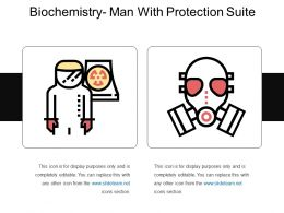 Biochemistry Man With Protection Suite
