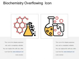 Biochemistry Overflowing Icon