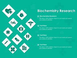 Biochemistry Research Ppt Powerpoint Presentation Slides Graphics Tutorials