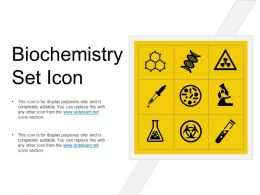 Biochemistry Set Icon