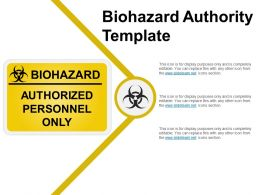 Biohazard Authority Template Example Of Ppt