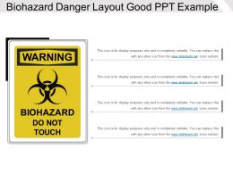 Biohazard Danger Layout Good PPT Example