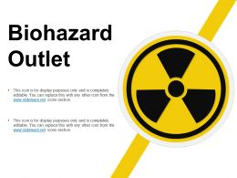 Biohazard Outlet Powerpoint Layout