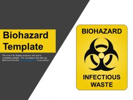 Biohazard Template Powerpoint Presentation