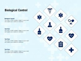 Biological Control Ppt Powerpoint Presentation Ideas Example Introduction