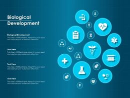 Biological Development Ppt Powerpoint Presentation Professional Examples