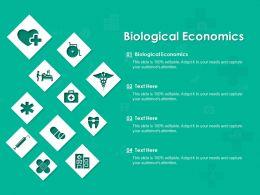 Biological Economics Ppt Powerpoint Presentation Slides Inspiration